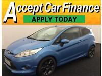 Ford Fiesta 1.6TDCi ( 95ps ) DPF 2011MY Zetec S FROM £25 PER WEEK!
