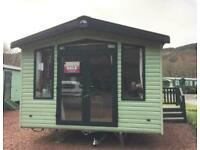 Holiday home for sale on beautiful Scottish Park. Very low site fees.