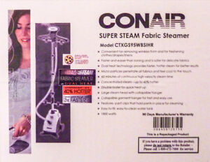 *NEW* Conair ExtremeSteam Professional Fabric/Clothes Steamer