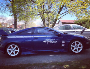 "2001 Toyota Celica GT """"LOTS OF UPGRADES"""""