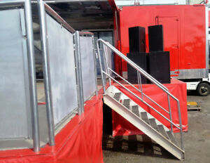 MOBILE Entertainment 53' TRAILER The ultimate party on wheels