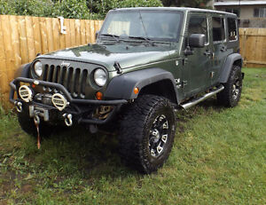 2007 Jeep Wrangler Unlimited X – Massive Upgrades!