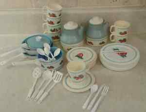 Vintage/Retro play dishes by Chilton