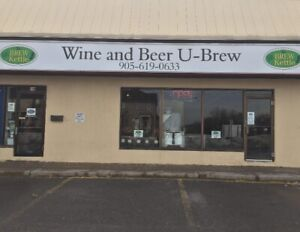 TURNKEY BEER AND WINE MAKING BUSINESS IN GREATER TORONTO AREA