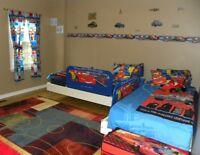 Toddler Bedding Set Disney Cars 12 items (PET/SMOKE FREE HOME)