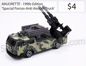 MAJORETTE 'Special Forces: Army Anti-Aircraft Gun Truck' (Loose)