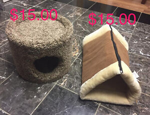 CAT SINGLE CONDO and Allstar Kitty Shack 2-in-1 Tunnel Bed & Mat