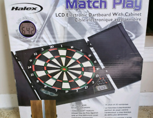 LCD Electronic Dart Board Cabinet Game