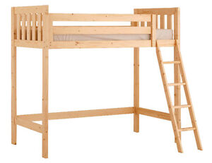 Stork Craft loft bed ( single )