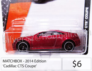- =  MATCHBOX 'Cadillac CTS Coupe' = -