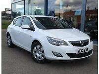 2012 VAUXHALL ASTRA 1.7 CDTi 16V ecoFLEX Exclusiv GBP30 TAX, AC and CRUISE