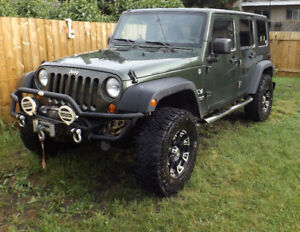 *No Reasonable Offer Refused* 2007 Jeep Wrangler Unlimited X