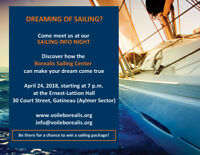 Dreaming of sailing in the Outaouais region?