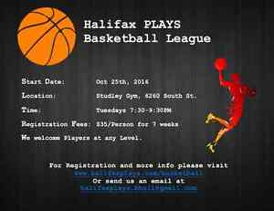 Halifax PLAYS Basketball League (Co-ed)