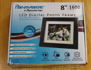 "Panimage 8"" Digital Picture Frame"