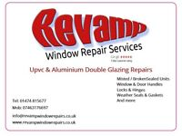 Double Glazing Window Repairs - Misted or Broken Sealed Units , Hinges, Handles, Locks & more
