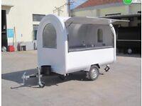 Mobile Food Cart Catering Trailer Burger Van Hot Dog 2.8mx1.6mx2.3m