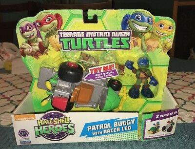 es Patrol Buggy Racer Leo Ninja Turtles Action Figure Dmg Pk (Leo-ninja Turtle)