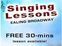 Singing lessons / Vocal Tuition / Teacher in Ealing Broadway - FREE 30 mins Trial Lesson!