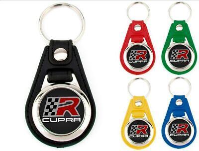 Llavero SEAT CUPRA Diferentes Colores Keyring Keychain Porte-Clés Portachiavi