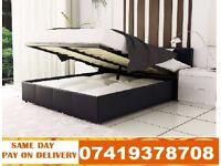 Brand New Double Single And King Size Leather Bed