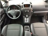 LHD LEFT HAND DRIVE OPEL ZAFIRA 1.9 CDTI COSMO 7 SEATER BLACK AUTOMATIC IMMACULATE