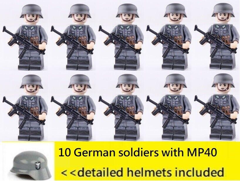 Ulrich Schenker Figur 21st Century 1:18 German Infantry with MP-40 Col