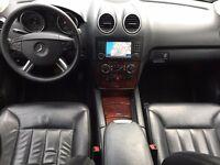 LHD LEFT HAND DRIVE MERCEDES ML 320 CDI 4MATIC 4X4 BLACK 2006 AUTOMATIC 22INCH FULL AMG PACK