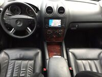 LHD LEFT HAND DRIVE MERCEDES ML 320 CDI 4MATIC 4X4 BLACK 2006 AUTOMATIC 22INCH FULL AMG PACK