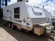 2007 Galaxy Fulcher - Off-road Caravan Heatherbrae Port Stephens Area Preview