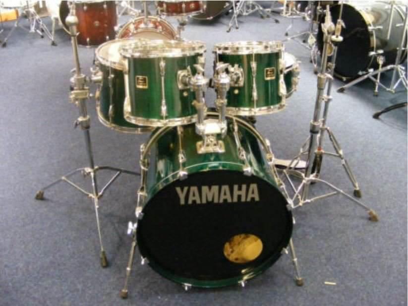 Yamaha Stage Custom Drum Kit Including Hardware British Racing
