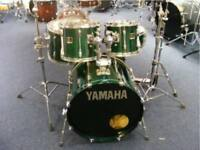 Yamaha Stage Custom drum kit Including Hardware - British Racing Green Lacquer, Excellent condition