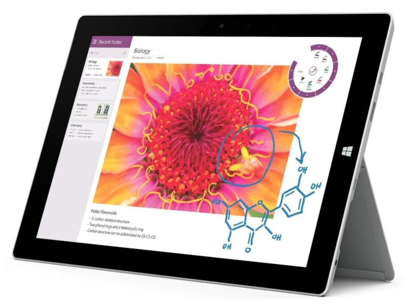 $469.99 - Microsoft Surface Pro 3 Tablet (12-Inch, 128 GB, Intel Core i3, Windows 10)