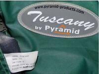 Pyramid Tuscany 775 Green Awning Never Used