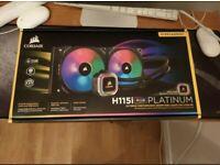 Corsair H115i RGB Platinum 280mm CPU Cooler