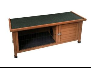 ♥ large single story rabbit guinea pig hutch cages 1240x 490x 565