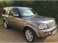 Just Serviced Land Rover Discovery 4 TD HSE Full Service History