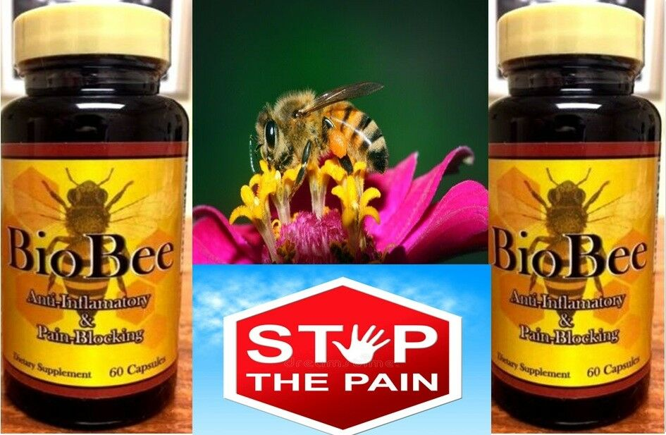 2 BIOBEE anti-inflamatory Bee Arthritis Pain Muscular Therapy Artritis Abee Cure 2