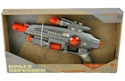 Defender Space GUN 37cmWars Kanone Laserschwert Leucht Lichtschwert Star Pistole