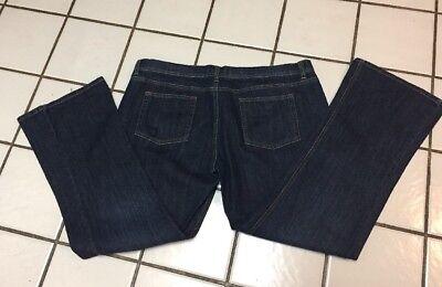 (Babystyle NEW Maternity Cotton Spandex Dark Blue Wash Denim Jeans Sz 31 Short)