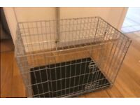 Puppy kitten or rabbit crate as new