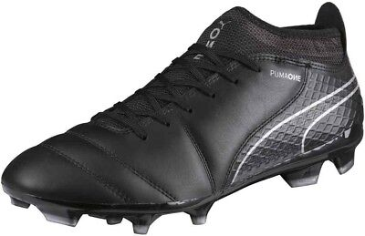 Puma One 17.2 Firm Ground Mens Football Boots - Black