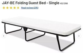 Jay-Be Memory Foam Folding 1 or 2 Single Guest Beds