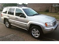 2004 Jeep Grand Cherokee 2.7CRD Limited edition 2x4