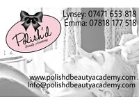Polish'd Beauty Academy - Fully Accredited Beauty Therapy Courses - Lashes, Nails, Waxing, Tanning