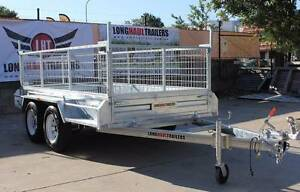 10x5 Dual Axle Tandem Hot Dipped Galvanised Box Trailer with Cage Sumner Brisbane South West Preview