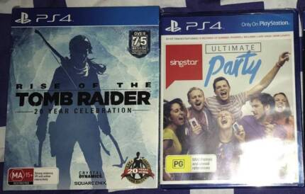 2 BRAND NEW SONY PLAYSTATION 4 GAMES