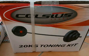 Weight lifting toning kit set with barbell - Brand new Ascot Brisbane North East Preview