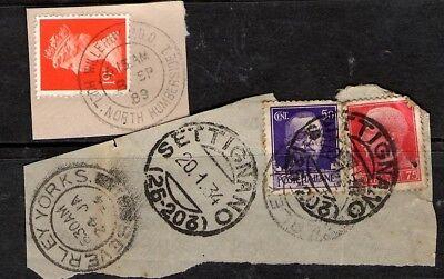 GB  - Italian / Beverley & Willerby postmarks