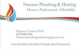 Namaste Plumbing & Heating covering all London area